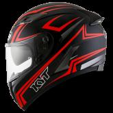 Kask Motocyklowy KYT FALCON 2 ESSENTIAL czerwony fluo - XL