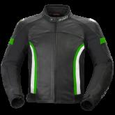 Kurtka motocyklowa BUSE Dervio czarno-zielona
