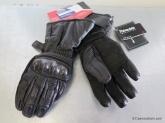 Rękawice motocyklowe BUSE Monsoon Stx czarne