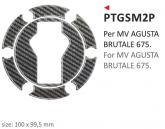 PRINT naklejka na wlew paliwa MV Augusta Brutale 675