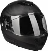 Kask motocyklowy LAZER MONACO EVO 2.0 czarny/carbon/matowy