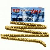 Łańcuch napędowy DID 50ZVMX G&G ilość ogniw 140 (X-ringowy, wzmocniony, złoty)