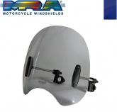 Uniwersalna szyba do motocykli bez owiewek MRA (typ ROC, niebieska)