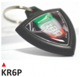 PRINT brelok na klucze, z dwustronną etykietą - APRILIA