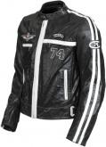 Kurtka motocyklowa skórzana LOOKWELL 74 LTD czarna