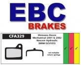 Klocki rowerowe EBC SHIMANO DEORE HYDRAULIC BR-M555 2001-2002 CFA329HH (1 kpl.)