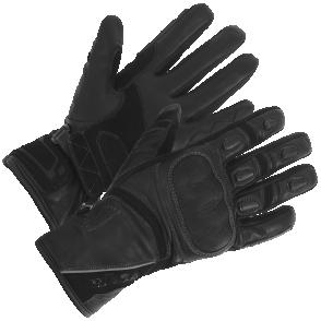 Rękawice motocyklowe BUSE Ascari czarne