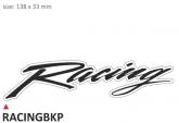 PRINT zestaw 10 naklejek Racing czarne