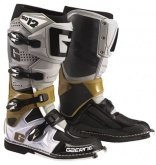 Buty motocyklowe GAERNE SG-12 szare/platynowe/białe rozm. 44