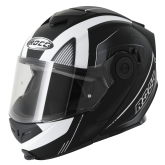 Kask motocyklowy ROCC 882 czarny mat/biały  XS