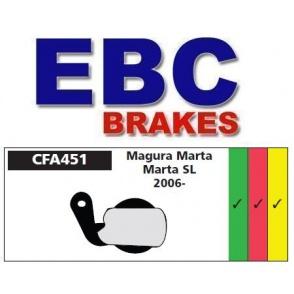 Klocki rowerowe EBC (spiekane) Magura Marta/Marta SL 2006- CFA451HH