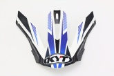 Daszek kasku STRIKE EAGLE STRIPE WHITE/BLUE