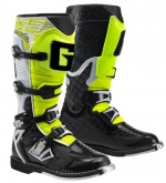 Buty motocyklowe GAERNE G-REACT GOODYEAR biało-czarno-żółte 46
