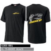 T-Shirt GAERNE czarny