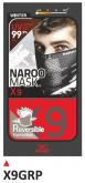 PRINT maska X9 czerwone+szara