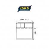 Filtr Oleju ISON 975 (HF975)
