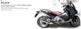 PRINT zestaw naklejek motocyklowych do Honda Integra carbon wersja