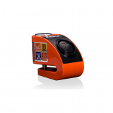 Blokada na tarczę z alarmem XZZ6 pomarańczowa - bolec 6 mm