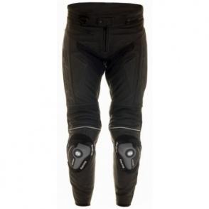 Suomy Spodnie skórzane ze ślizgami czarne