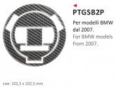 Naklejka na wlew paliwa PRINT Bmw 2007-