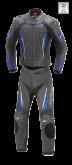 Kombinezon motocyklowy damski BUSE Imola czarno-niebieski 36