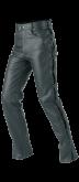 Spodnie motocyklowe skórzane BUSE Schnurjeans czarne