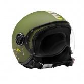 Kask Motocyklowy MOMO FGTR BABY (Military Green / Camouflage) rozm. XS