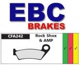Klocki hamulcowe rowerowe EBC CFA242HH ROCK SHOX, AMP