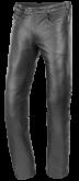 Spodnie motocyklowe skórzane BUSE Lederjeans czarne