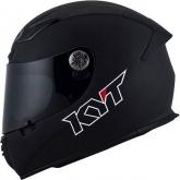 Kask motocyklowy KYT KR-1 czarny matowy