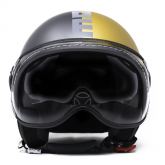 Kask Motocyklowy MOMO FGTR EVO (JOKER Asphalt / Gold/ Grey) rozm. L