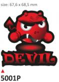 Naklejka PRINT Devil (2 szt.)