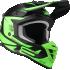 Kask Motocyklowy LAZER OR3 PP3 (kol. Czarny - Zielony Fluo - Matowy) rozm. XS