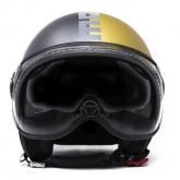 Kask Motocyklowy MOMO FGTR EVO (JOKER Asphalt / Gold/ Grey) rozm. XS