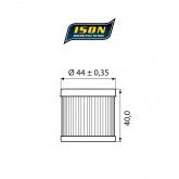 Filtr Oleju ISON 971 (HF971)