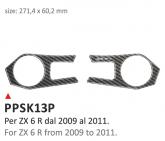 PRINT Naklejka na półkę kierownicy Kawasaki ZX6R 2009/2011