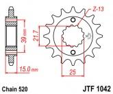 Zębatka napędowa przednia JTF1042.15 - 15 zębów