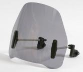 Uniwersalna szyba do motocykli bez owiewek MRA (typ RO, czarna)