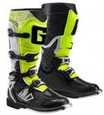 Buty motocyklowe GAERNE G-REACT GOODYEAR biało-czarno-żółte 44
