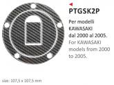 Naklejka na wlew paliwa PRINT Kawasaki 2000-2005