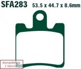 Klocki hamulcowe EBC SFA283/4 skuterowe (kpl. na 1 tarcze)