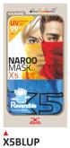 PRINT maska X5 niebieskie+czarne