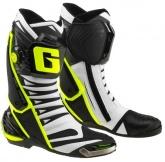 Buty motocyklowe GAERNE GP1 EVO białe czarne żółte rozm. 40