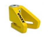 Blokada na tarczę bez alarmu X1-Y żółta - bolec 6 mm