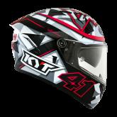 Kask Motocyklowy KYT NF-R ESPARGARO' 2018 FUXIA - XL