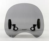 Uniwersalna szyba do motocykli bez owiewek MRA, forma ROC, przyciemniana