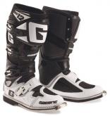 Buty motocyklowe GAERNE SG-12 czarne białe rozm. 47