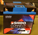 Akumulator SHIDO CONNECT LTX20L-BS Litowo Jonowy 4 Term
