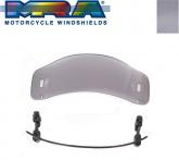 Deflektor szyby motocyklowej MRA 28/23 cm (typ VTA, przyciemniany)
