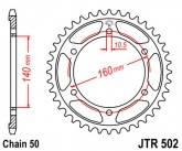 Zębatka napędowa tylna JTR502.50 - 50 zębów